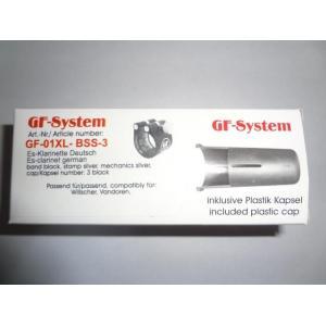 GF-SYSTEM/EsクラリネットGermanリガチャーGF-01XL-BSS-3 送料:定形外で220円|ecwide