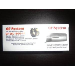 GF-SYSTEM バリトンサックス リガチャーGF-05L-BGG-11 selmer S80, Selmer 200 Klassik用|ecwide