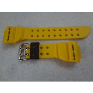 CASIOカシオG-SHOCK純正バンドGF-8250-9JF用ベルト黄色