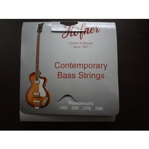 Hofner ヘフナー純正 HCT1133R ショートスケール バイオリン ベース 弦 Bass Strings Short Scale Roundwound|ecwide