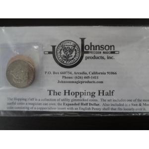 johnson products コイン 手品 ホッピングハーフ hopping half マジック|ecwide