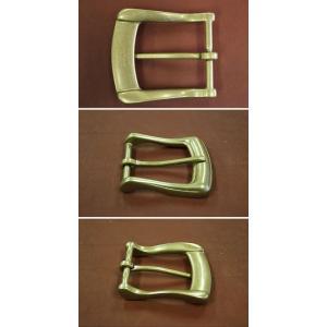 イタリア製40mm用真鍮バックル ベルト作成に真鍮|ecwide
