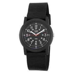 TIMEXタイメックスCAMPERキャンパーT18581黒ブラック腕時計 送料:定形外で290円 ecwide