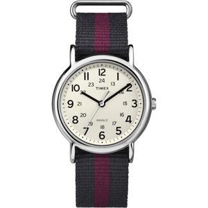 Timex WEEKENDERセントラルパークT2P469腕時計/赤/青 ecwide