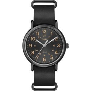 Timex WEEKENDERセントラルパークT2P494腕時計本革レザー ecwide