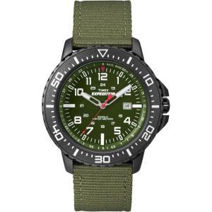 TimexタイメックスT49944腕時計Expedition Uplander 緑バンド ecwide