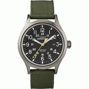 TimexタイメックスT49961Expedition Scout Metal Watch緑 送料:定形外で340円|ecwide