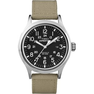 TimexタイメックスT49962Expedition Scout Metal Watchカーキ 送料:定形外で340円|ecwide