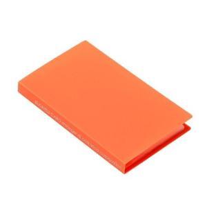 名刺ホルダー 120ポケット パンプキン SOLID クリアファイル 収納 シンプル 公式通販サイト