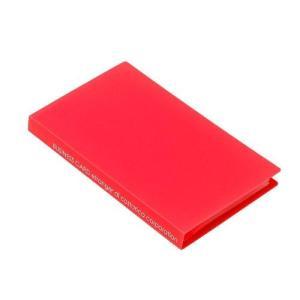 名刺ホルダー 120ポケット オレンジ SOLID クリアファイル 収納 シンプル 公式通販サイト