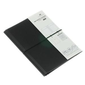 B6ノートカバー[SOLID] S.ブラック