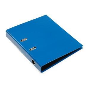 A4レバーファイル55[SOLID2] ブルー edc