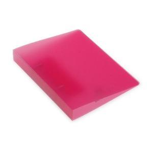 A5 2穴 Dリングファイル 【とじ厚15mm】 [TRP] ピンク[etranger di cos...