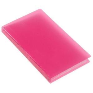 名刺ホルダー 120ポケット ピンク TRP クリアファイル 収納 シンプル 公式通販サイト