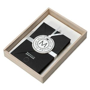 レターセット A5 木箱入り ブラック PAPIER グランミュゼ プレゼント  記念品 公式通販サイト|edc