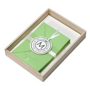 レターセット A5 木箱入り グリーン PAPIER グランミュゼ プレゼント  記念品 公式通販サイト|edc