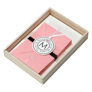 レターセット A5 木箱入り ピンク PAPIER グランミュゼ 母の日 プレゼント  記念品 公式通販サイト|edc