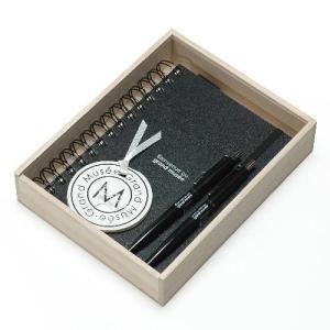 B6リングノート 200シート 木箱入り ブラック CUOIO グランミュゼ プレゼント  記念品 公式通販サイト|edc