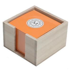 ブロックメモホルダー オレンジ 桐 グランミュゼ プレゼント  記念品 公式通販サイト|edc