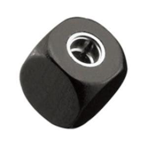 シャープナー[Cube] ブラック|edc