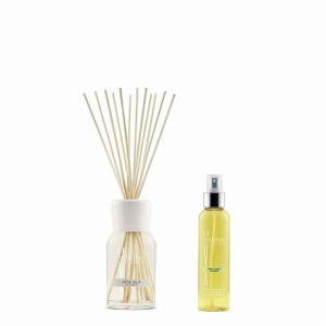 リードディフューザー(M)+スプレー ホワイトムスク NATURAL ミッレフィオーリ トライアルセット 芳香剤|edc