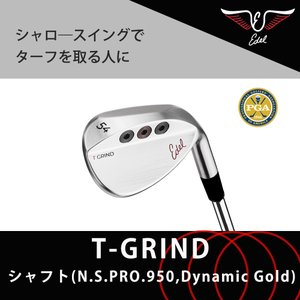 【最新モデル】サンドウェッジ ゴルフ ゴルフクラブ ウェッジ アプローチ ハイバンス EDEL  イーデル SMS T-GRIND edelglfjapan