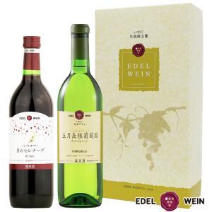 エーデルワイン LTAギフト 2本セット ワインセット 辛口甘口 (送料込)|edelwein