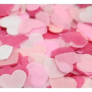 エデン ハート 紙吹雪 ピンク  ライトピンク  スキンピンク ホワイト 約1500枚(10〜15人分)(E11)