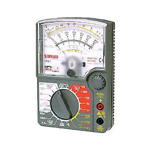sanwa 三和電気計器 SP21/C アナログマルチメータ ハードケース付き SP-21/C|edenki
