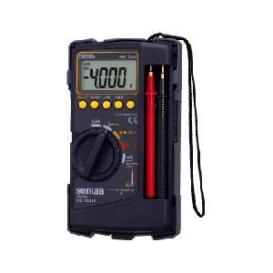 在庫 sanwa 三和電気計器 CD800a デジタルマルチメータ ケース一体型 CD-800a あすつく対応 edenki