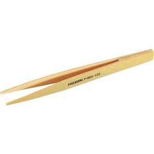 ホーザン HOZAN P-860-125 竹ピンセット P860125 静電気対策ピンセット・ロックホルダー ピンセット 電気・電子関連用品 ホーザン edenki