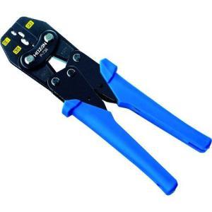 あすつく対応 ホーザン HOZAN P-736 圧着工具 絶縁閉端子用 P736|edenki
