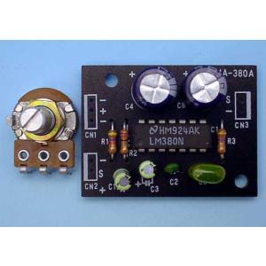 【納期-約1ヶ月】 ワンダーキット [MA-380A(G)] 2.4Wパワーアンプキット 組立サポート付 MA380A(G)|edenki