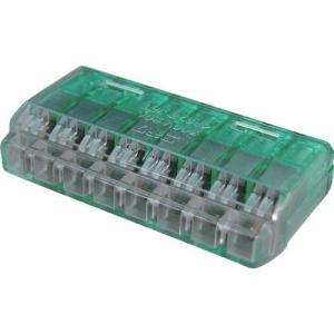 あすつく対応 TRUSCO T-QL-8 差込形電線コネクタ極数8 TQL8 255-8106|edenki