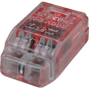 あすつく対応 TRUSCO T-QL-2 差込形電線コネクタ極数2 TQL2 255-8068|edenki