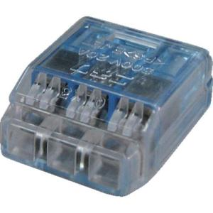 あすつく対応 TRUSCO T-QL-3 差込形電線コネクタ極数3 TQL3 255-8076|edenki