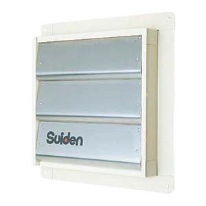 【個数:1個】スイデン(Suiden) [SCFS-40] 直送 代引不可・他メーカー同梱不可 換気扇用シャッター SCFS40 edenki