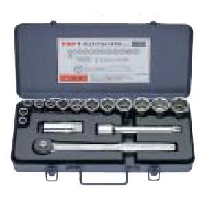 トップ工業 TOP SSS-413 サーフェイスソケットレンチ セット 差込角12.7mm SSS413 edenki