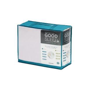 フランスベッド GOOD SLEEP Plus ウォッシャブルバイオ3点セット(ベッドパッド・マットレスカバー) セミダブル|edenki