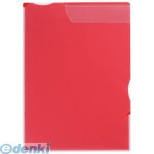 キングジム KING JIM 758アカ ス−パ−ハ−ドホルダ−(マチ付) 赤|edenki