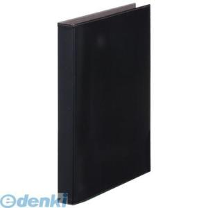 キングジム KING JIM 1961LFクロ レザフェスリングファイル 黒