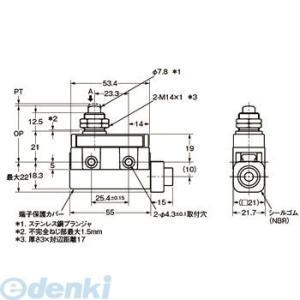 【キャンセル不可】オムロン OMRON ZC-Q55 コンパクト封入スイッチ ZC−□55 ZCQ55|edenki