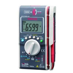 sanwa 三和電気計器 PM33a ポケットに入るデジタルマルチメータ+クランプメータ多機能複合機 edenki