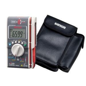 sanwa 三和電気計器 PM33a/C ポケットに入るデジタルマルチメータ+クランプメータ多機能複合機(ケース付属) edenki