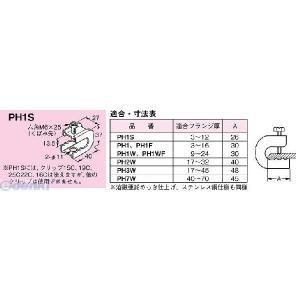 ネグロス電工 PH1S パイラック 一般形鋼用【電気亜鉛めっき】 【20個入】|edenki