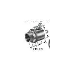 パナデン DS02192 電気工事士技能試験向け練習用材料 ねじ無しボックスコネクターE-19 DS-02192