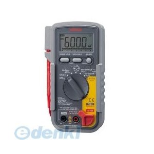 sanwa 三和電機計器 CD732 デジタルマルチメータ/多機能 edenki