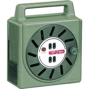あすつく対応 ハタヤリミテッド NJ101S 温度センサー付コードリール単相100V10M 424-9933 edenki