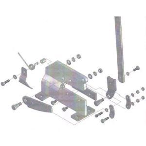 あすつく対応 トラスコ中山(TRUSCO) TRUSCO P1017 P−1用六角ボルトNO.17 450-7444|edenki