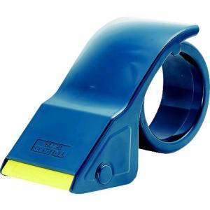 あすつく対応 トラスコ中山(TRUSCO) TRUSCO TEX2508 テープカッター 3インチ紙管用 樹脂製 445-3557